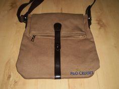 P&O CRUISES Brown SATCHEL BAG (NEW)