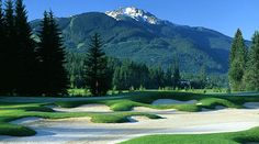 Nicklaus North Golf Course - Tourism Whistler Official Resort Website for Whistler, BC Canada