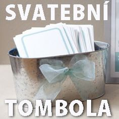 Svatební hry – svatební tombola Wedding Games, Facial Tissue, Garden Wedding, Wedding Inspiration, Wedding Photography, Program, Gifts, Weddings, Fitness Exercises