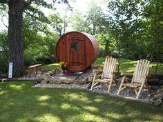 Custom Sauna Gallery | Handcrafted Barrel Saunas, Customized Bent Stave Barrel Saunas, Minnesota Sauna Manufacturing Business