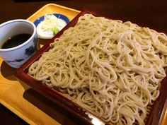 Buckwheat noodles Buckwheat Noodles, Junk Food, Japanese Food, Spaghetti, Foods, Ethnic Recipes, Food Food, Food Items, Japanese Dishes