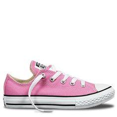 Converse All Star low kids shoes in Pink Kids Fashion Show, Girl Fashion, Fashion Outfits, Fashion Clothes, Converse All Star, Pink Converse, Buy Shoes Online, Chuck Taylor Sneakers, Street Wear