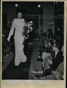 1963 Press Photo The Duchess of Windsor in Evening Dress By Christian Dior