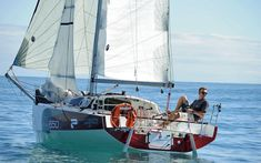 El primer mini transat 'made in Spain'.