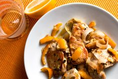 Sautéed Chicken With Meyer Lemon by Melissa Clark