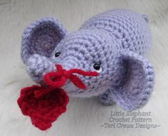 Little Elephant Crochet Pattern (free pattern)