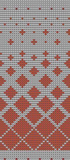 Подбор цветовой гаммы для вязания жаккардового узора                                                                                                                                                                                 More