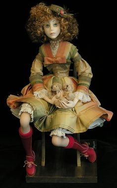 Tamara Pivnyuk Art Dolls / Dolls / Masha and Bears Best Artist, Artist Art, Girls Red Shoes, Masha And The Bear, Hello Dolly, Fantasy Artwork, Bjd Dolls, Ball Jointed Dolls, Antique Dolls
