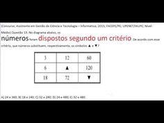 Curso Raciocínio Lógico Sequência números Teste Psicotécnico Detran e Co... https://youtu.be/W2BY_lR19W0