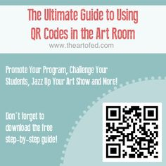 QR Codes in the art room