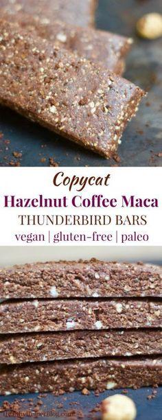 Copycat Hazelnut Coffee Maca Thunderbird Bars