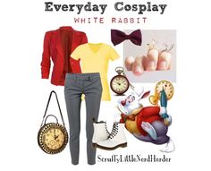 Everyday Cosplay: The White Rabbit (Alice in Wonderland) Cosplay Alice In Wonderland, Halloween Alice In Wonderland, White Rabbit Alice In Wonderland, Alice Cosplay, Alice Costume, Wonderland Costumes, Alice In Wonderland Birthday, Halloween Cosplay, March Hare Costume