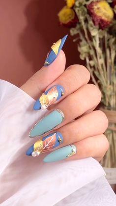 Nail Art Hacks, Gel Nail Art, Nail Art Diy, Diy Nails, Manicure, Nail Polish, Nail Art Designs Videos, Nail Art Videos, Gel Nail Designs