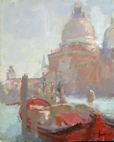 Martin Yeoman - boat on the grand canal