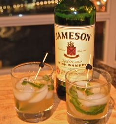 """Jameson """"Man Mojito"""""""