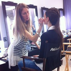 Backstage with MUA fabuleuse Amélie Ducharme #MFW24 - @patriciagajo- #webstagram