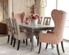 upholstered dining chairs on wheels
