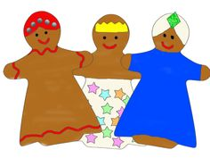 Gingerbread Wise Men