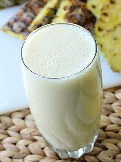 Ananas Smoothie für die Verdauung und das Wohlbefinden