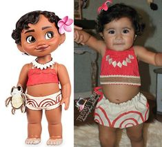 Check out our costumes baby selection for the very best in unique or custom, handmade pieces from our shops. Moana Party, Moana Birthday Party Theme, Moana Themed Party, 1st Birthday Parties, Girl Birthday, Baby Girl Halloween, Baby Halloween Costumes, Baby Costumes, Moana Halloween Costume