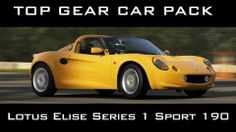 Forza  5 - Lotus Elise Series 1 Sport 190 - Top Gear Car Pack Gameplay Lotus Elise, Top Gear, Xbox One, Gears, Packing, Sports, Bag Packaging, Hs Sports, Gear Train