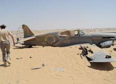 Old P-40 found in Egyptian desert