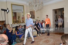 Photo d'actualité : Models walk the runway during the Pierre Talamon...
