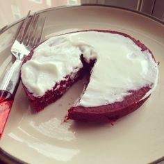 Red Velvet Cake Baked Oatmeal