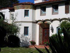 Classic Santa Barbara Architects and Santa Barbara Architecture by noted Architects, Designers and Artisans, then and now.