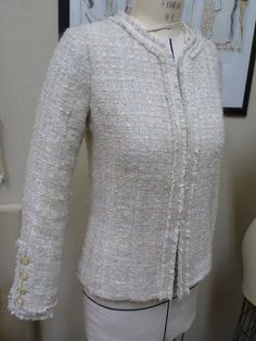 Cloning a Chanel Style Jacket   In depth posts from pattern drafting to creating the perfect fringe trim