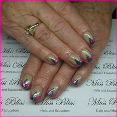 Gel Nails by Miss Bliss Nails and Education Christchurch Gel Nails, Bliss, Education, Beauty, Gel Nail, Onderwijs, Beauty Illustration, Learning