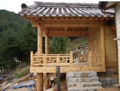 Asian Design, Architecture Old, Japanese House, Country Life, Pergola, Beautiful Pictures, Construction, Outdoor Structures, Traditional