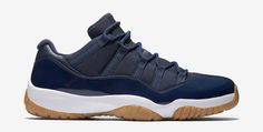 """Air Jordan 11 Low """"Cherry"""" and """"Gum"""" Release Dates 