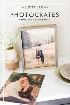 The perfect combination of barnwood frames and high quality prints. PhotoCrates are available in 8 sizes ranging from to Diy Arts And Crafts, Diy Craft Projects, Home Crafts, Paper Crafts, Diy Crafts, Diy Wall Art, Home Decor Wall Art, Bridal Show Booths, Picture Layouts