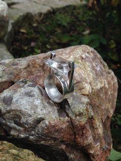 Ring med bergkristall