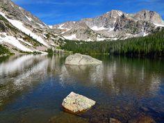 Thunder Lake 13 mile hike- Rocky Mountain National Park- Colorado