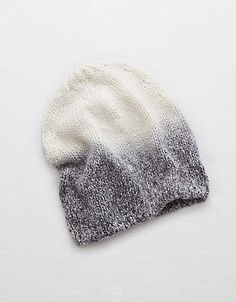 2e19f7eb Aerie Beanie , Blue Heather | Aerie for American Eagle Winter Hairstyles,  Warm Outfits,