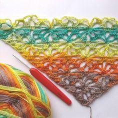 Another colorful crochet lace triangular headscarf coming up... #workinprogress #handmadeforsale #handmadeisbetter #lovehandmade #etsyshop #etsyseller #crochetdesign #instacrochet #crochetlove #crochetersofinstagram #fiberart #makersgonnamake #smallbusinesslove #creativelife #yarnlove #love #colors #colorful #bambooyarn #naturalfibers #craftastherapy #crochetaddict #cozycrochet #summertrends #summerfashion #summertime #headscarf #hairscarf #crochethat #echocraftings by echocraftings