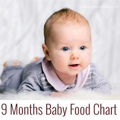 9 Months Baby Food Chart | 9 Months Baby Meal Plan | GKFoodDiary - Indian and Baby Food Recipe Blog