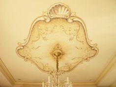 Classic Murals - Ceiling decorations - Trompe L'oeil Murals