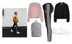 Designer Clothes, Shoes & Bags for Women Herschel Supply Co, Adidas Jacket, Sporty, Shoe Bag, Polyvore, Jackets, Stuff To Buy, Shopping, Collection