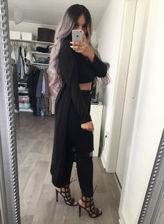 Hair x outfit on point!