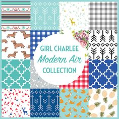 The Charlee Fabrics Modern Air Fabric Collection Available Now Knit