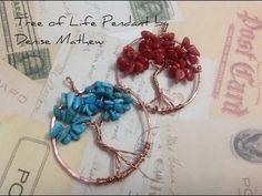 Tree of Life Pendant by Denise Mathew - YouTube