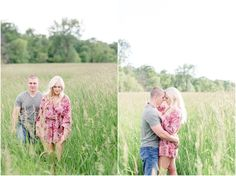 ILLINOIS COUNTRY FARM ENGAGEMENT SESSION | Jill Gum Photography