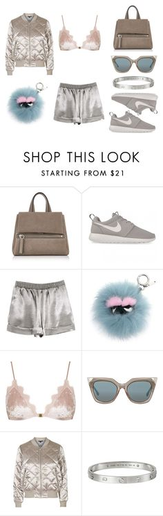 """""""#Look:274"""" by dollarwomanlux ❤ liked on Polyvore featuring Givenchy, NIKE, Fendi, Topshop and Cartier"""