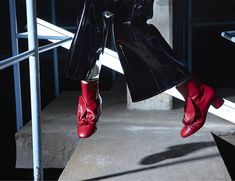 Sassy Minna Parikka boots for women. Occult, Boots, Red, Women, Style, Shearling Boots, Swag, Heeled Boots, Stylus