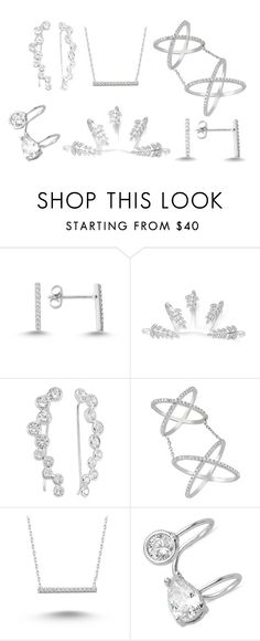 """""""sterling silver-1"""" by amorium ❤ liked on Polyvore featuring Amorium, women's clothing, women's fashion, women, female, woman, misses and juniors"""
