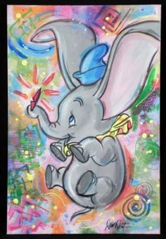 Dumbo's Feather - Dumbo Believing in the power of the feather...