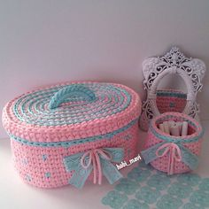 My Big Fat Knitting Book: A Complete Knitting Workbook Crochet Box, Crochet Basket Pattern, Crochet Gifts, Knit Crochet, Crochet Patterns, Crochet Handbags, Crochet Purses, Knitting Books, Baby Knitting